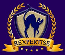 Rexpertise élevage de chat Rex Cornish logo